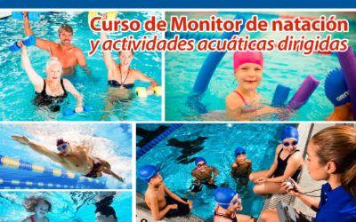 Curso monitor de natación
