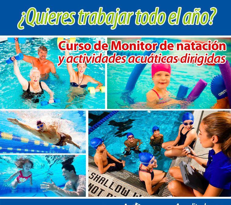 Próximo curso de monitor de natación